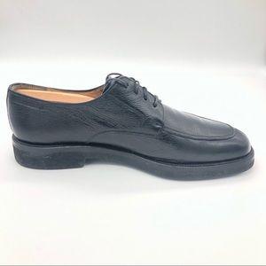 Men's Mezlan Salerno Black Leather Lace Up Oxfords